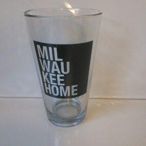 Milwaukee Home Pint Glass