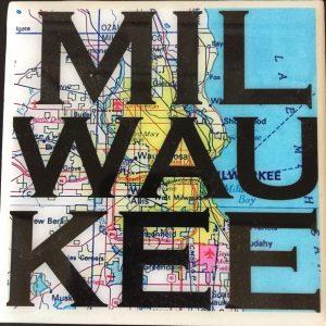 Milwaukee Map Coaster