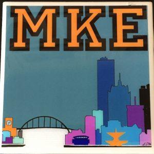 Orange MKE City Coaster