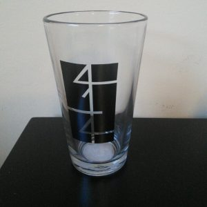 414 Milwaukee Pint Glass