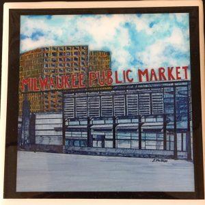 Milwaukee Public Market Coaster