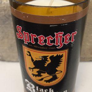 Sprecher Black Bavarian Beer Candle