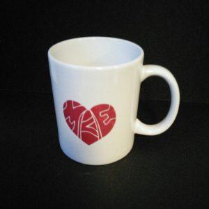 Heart Milwaukee Mug White And Red