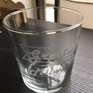 Greetings From Milwaukee Tumbler Glass