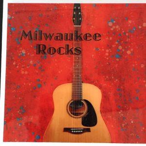 Red Milwaukee Rocks Coaster