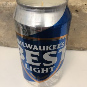 Variation #549 of Milwaukee's Best Beer Candle
