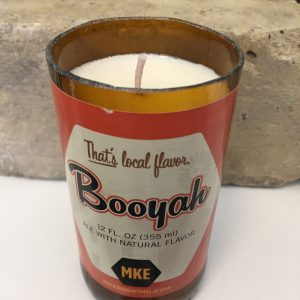 Booyah MKE Brewing Co. Beer Candle
