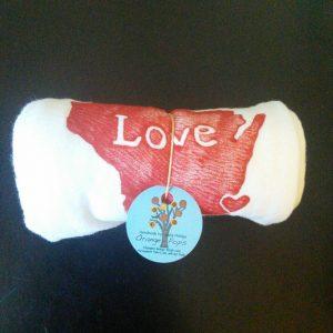 Wisconsin Love Tea Towel