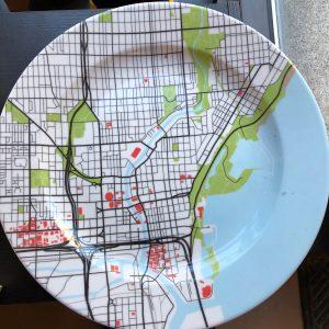 Milwaukee Map Plate