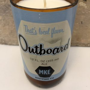 Outboard MKE Brewing Co. Beer Candle