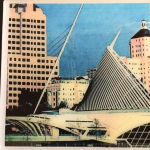 Milwaukee Art Museum Coaster