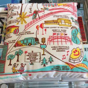 HANmade Milwaukee Small Pillow
