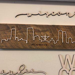 Milwaukee Barn Wood Skyline