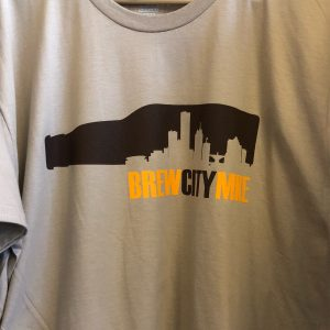 Brew City MKE T-Shirt – Brown