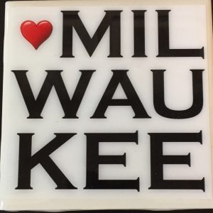 Heart Milwaukee Coaster