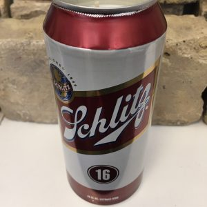 Schlitz Tall Boy Beer Candle