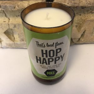 Milwaukee Brewing Co. Hop Happy Bottle Candle