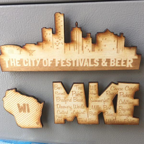 Milwaukee Magnet Set