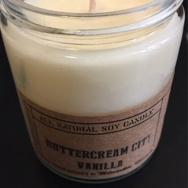 Buttercream City Vanilla Candle