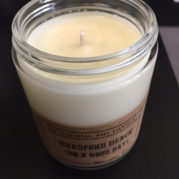 Bradford Beach (On A Good Day) Candle