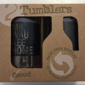Milwaukee Home Tumbler Glass Set (2)