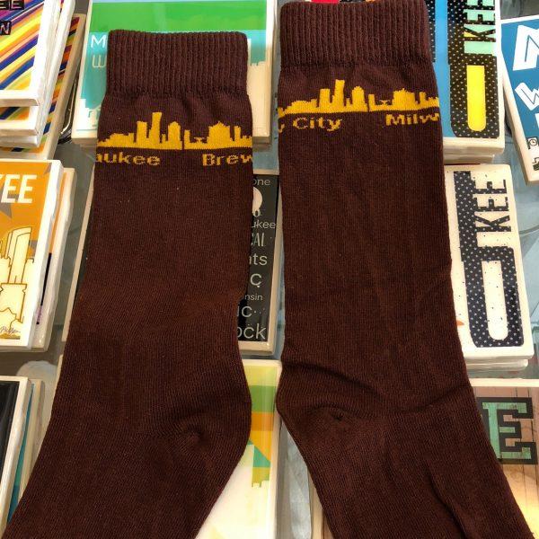 Brew City Milwaukee Socks