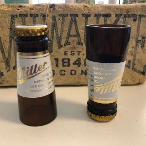 Miller Lite Bottle Shot Glass