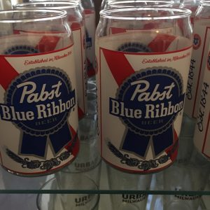 Pabst Can Glass