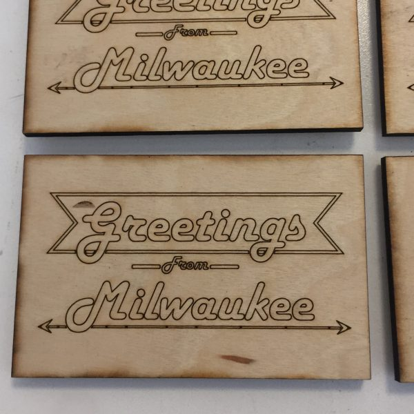 Greetings From Milwaukee Magnet – Large