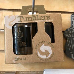 Milwaukee Home Tumbler Glass Set