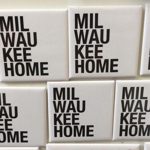 Milwaukee Home Magnet