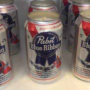 Pabst Can Candle