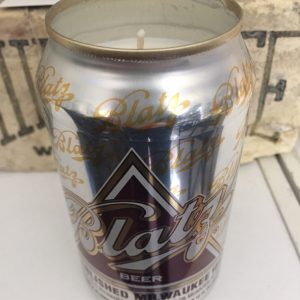 Blatz Beer Candle