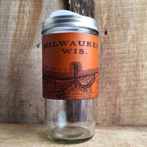 Milwaukee Map Travel Mug