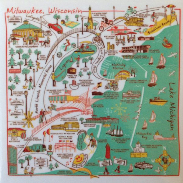 HANmade Milwaukee Magnet