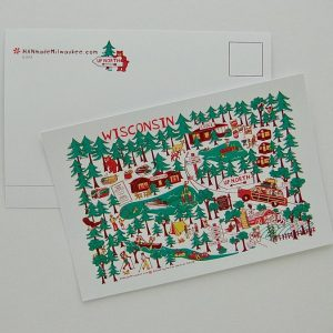 Up North Wisconsin Postcard