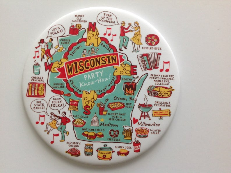 Wisconsin Party Know-How Magnet