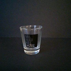 Milwaukee Home Shot Glass