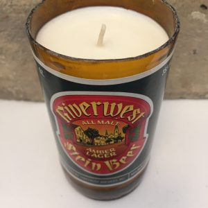 Riverwest Stein Lakefront Brewery Beer Candle (Vintage)