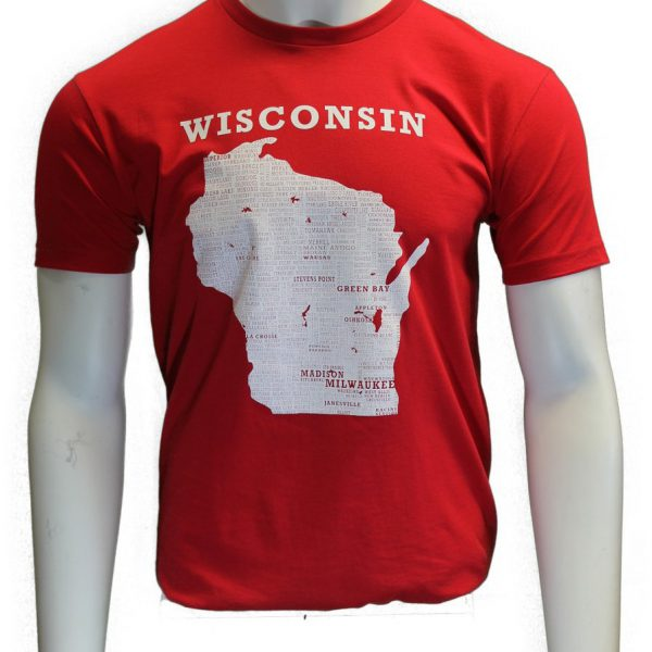 Wisconsin T-Shirt – Red