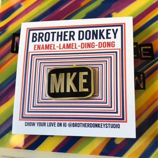 MKE (Milwaukee) Pin