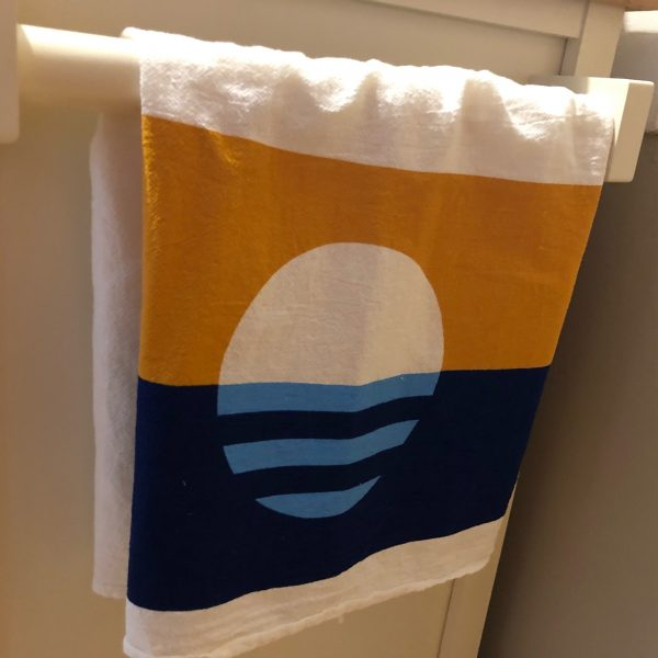 People's Flag of Milwaukee Tea Towel
