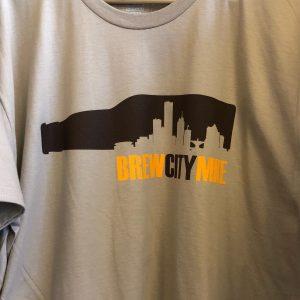 Brew City MKE T-Shirt – Brown