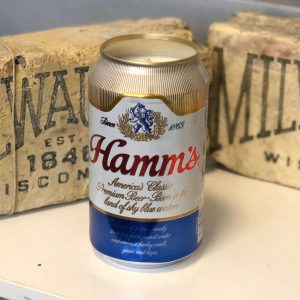 Hamm's Beer Can Candle
