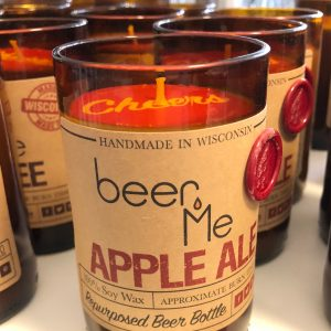Beer Me Apple Ale Candle