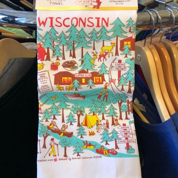 Wisconsin Up North Towel