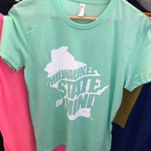 Milwaukee State of Mind T-Shirt – Mint