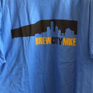 Brew City MKE T-Shirt – Light Blue