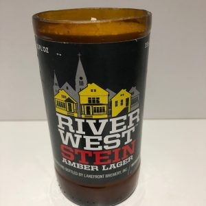 Lakefront Brewing Riverwest Can Candle