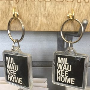 Milwaukee Home Keychain – Hard Plastic